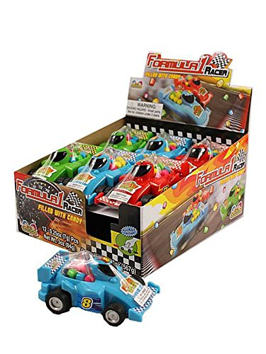 (Formula 1 Racer Filled With Candy 12 Count )