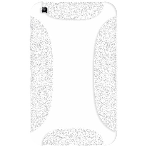 Amzer Soft Silicone Jelly Skin Fit Case Cover for Samsung Galaxy Tab 3 8.0 8-Inch SM-T310 SM-T315 - Solid White (AMZ96092) by Amzer