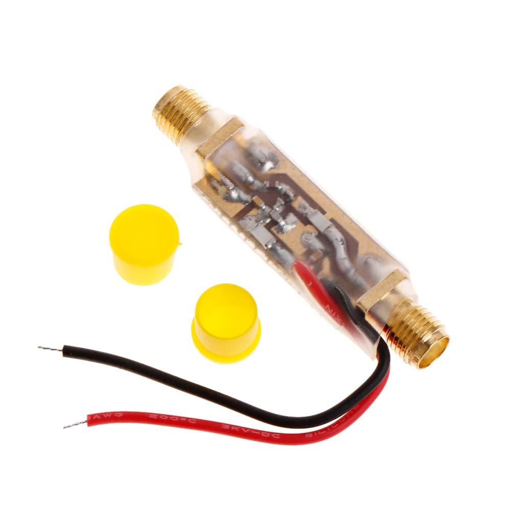 BIlinli 10MHz-6000MHz 6GHz Wideband-Verst/ärker Breitband-RF-Feeder HF-Isolator Bias Tee