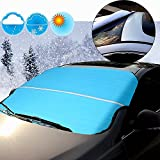 #10: AUTOPDR Automotive Car Windshield Snow Covers Sun Shade Protector Fits for ALL Vehicles Cars SUVs Summer and Winter