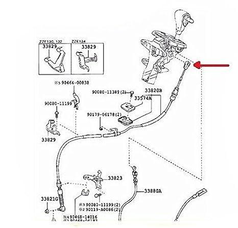 Corolla Matrix 03 08 Automatic Transmission Shifter Cable Bushing
