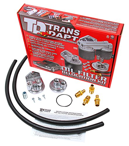 Trans-Dapt 1122 Oil Filter Relocation Kit (Remote Oil Filter Kit)