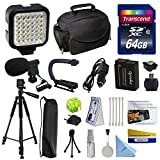 Advanced Accessory Kit for Panasonic Lumix DMC-FZ200 Digital Camera Includes 64GB High Speed Memory Card + Card Reader + Opteka DMW-BLC12 2000mAh Ultra High Capacity Li-Ion Battery + Battery Charger + Deluxe Padded Carrying Case + Professional Photo / Vid