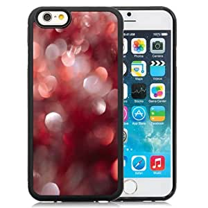 Fashion DIY Custom Designed iPhone 6 4.7 Inch TPU Phone Case For Red and White Light Spots Phone Case Cover