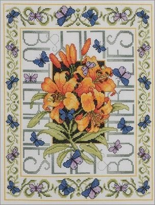 Cross Stitch Subjects (Bucilla Butterflies Counted Cross Stitch Kit)