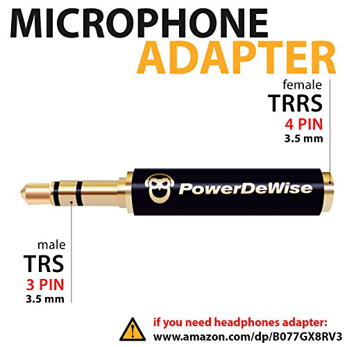 Microphone 3 5mm Adapter Female Lavalier