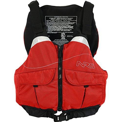 NRS Clearwater Mesh Back PFD Red XXL [並行輸入品]   B06XFWRXCH