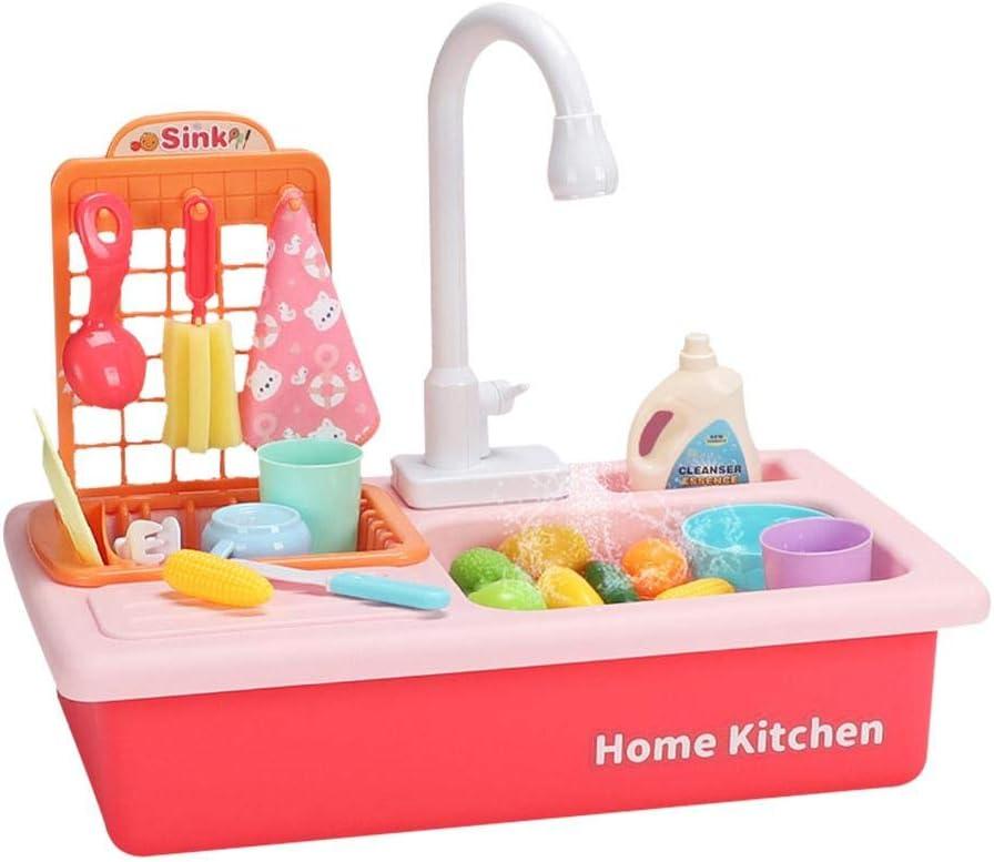 mementoy Spiel Waschbecken ohne Herd Rot - mementoy Kuechenspielzeug