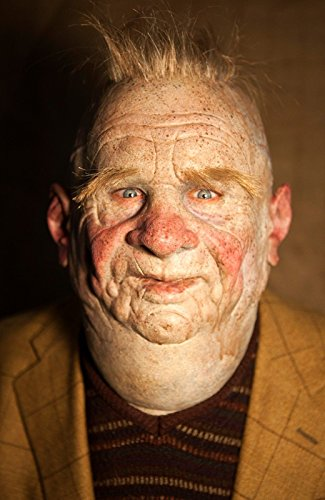 Realistic HandMade Silicone Mask Old Man