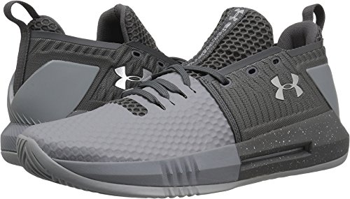 Under Armour Herren Drive 4 Low Stahl / Graphit / Metallic Silber