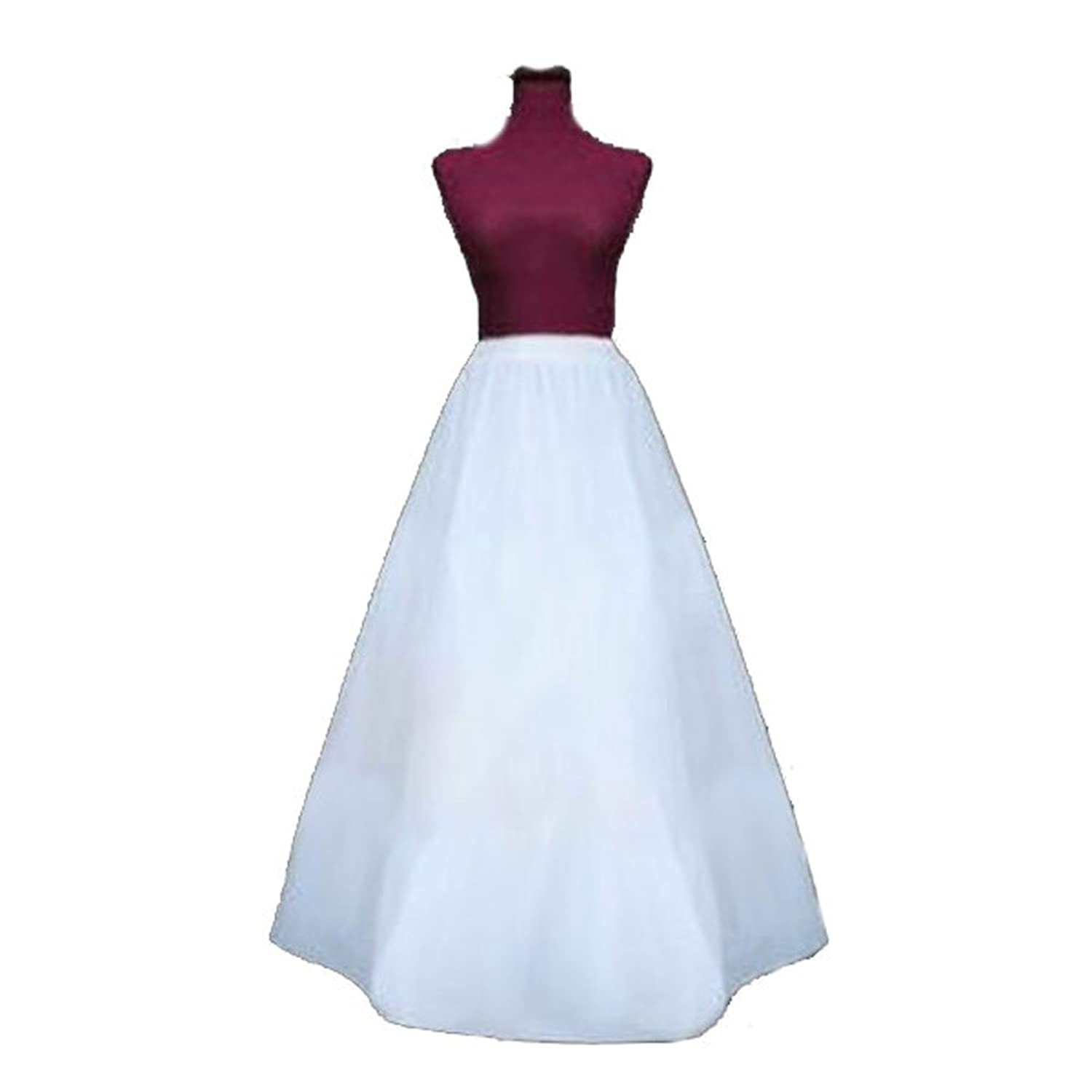 SACAS A Line Layered Bridal Wedding Gown Crinoline Petticoat Slip At Amazon Womens Clothing Store White