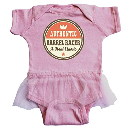 inktastic - Barrel Racer Vintage Classic Infant Tutu Bodysuit Newborn Pink 21578
