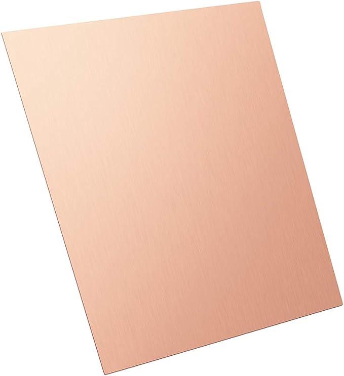 Copper sheet 1,5mm cu-dhp sheet plate-blech kupfer