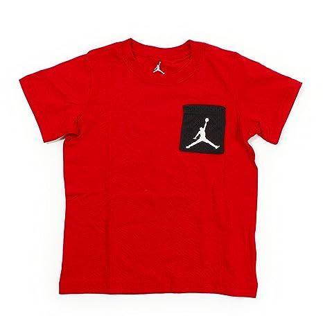 4f2f442fef55 Jordan Jumpman Big Boys Short Sleeve Graphic Pocket T-Shirt (Large (12/