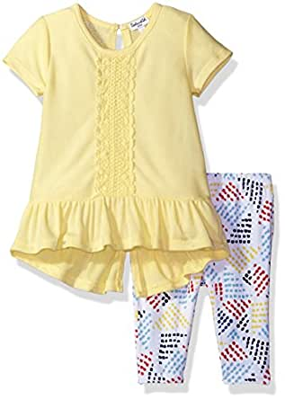Amazon Splendid Baby Girls Flouce Top and Legging