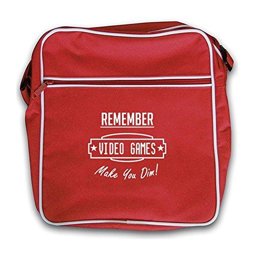 Video You Games Retro Dressdown Flight Red Dim Make Bag A17gPwx