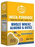 Early Foods - Organic Instant Wheat, Almond & Date Porridge Mix 200g - Indian Baby Foods, Vegan Baby Food, 100% Plant Based