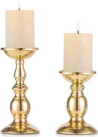 6 Bougies Pilier Bougie pour votre bougeoir et D/écoration Bougies classique Noir 30 x 3 cm