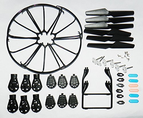ahorra hasta un 70% Night lions Tech(TM) Full spare part set kit kit kit for MJX X600 Rc Quadcopter Drone Propellers & Landing Skid Projoectors & Motor Base & Blade Frame & Main Gear.Also for X400(with screws)  venderse como panqueques