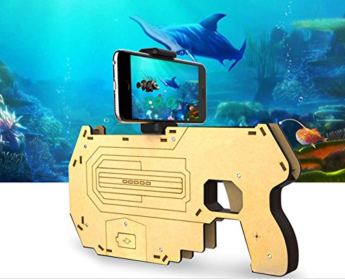 Augmented Reality AR Gun AR Pistol Grip The Guardian Toy Gun with AR-Gun APP Games Combines Realty with Virtual Reality High-tech Toys Large Version