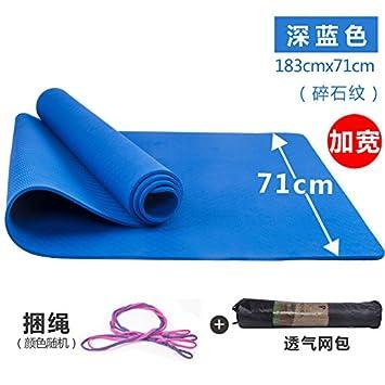 YOOMAT Esterilla de Yoga Fitness Fina Antideslizante Mat 6 ...