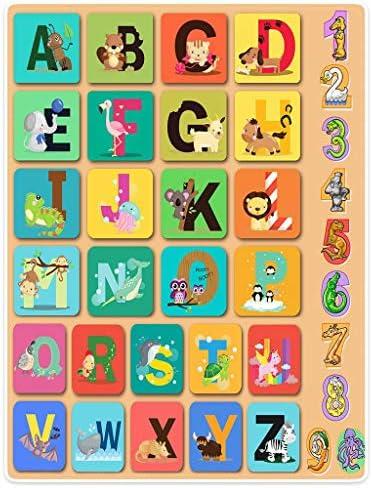 Z-1228 ABC ALPHABET CHART Kids Education English Language Poster Wall Art Decor
