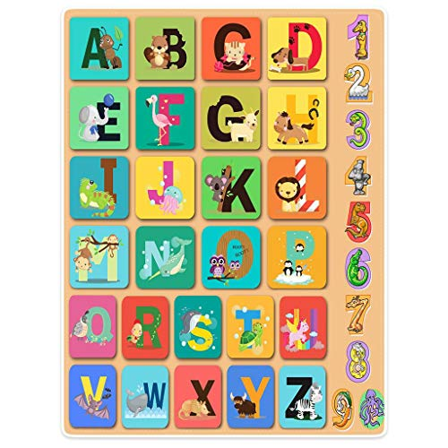 """HommomH"" Children's Animal Alphabet for Kids Blanket Comfor"