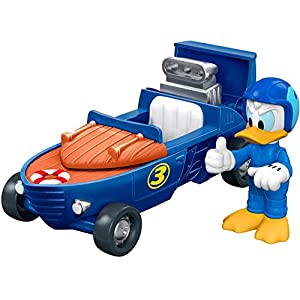 Fisher-Price Disney Mickey & the Roadster Racers, 2-in-1 Cabin Cruiser