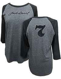 Women's Daniel's 3/4 Sleeve Signature Baseball Tee - 15361496Jd-79