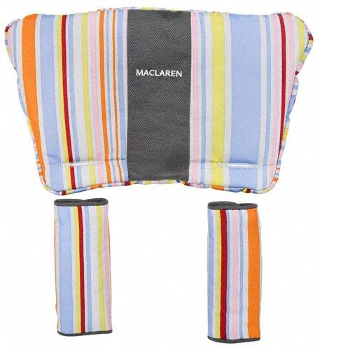 Maclaren Techno Xt Head - Maclaren Techno XT Comfort Pack - Multi Stripe