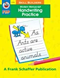 Modern Manuscript Handwriting Practice, Schaffer, Frank Publications, Inc. Staff and Vicky Shiotsu, 0867349379