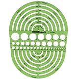Alvin Circle Radius Master Template Td1202