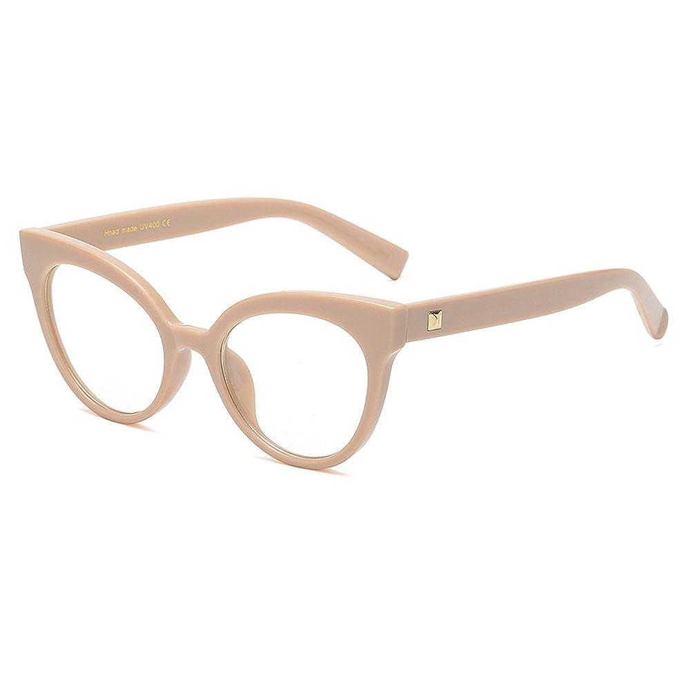 Hibote Montatura per occhiali da vista vintage retr/ò da uomo