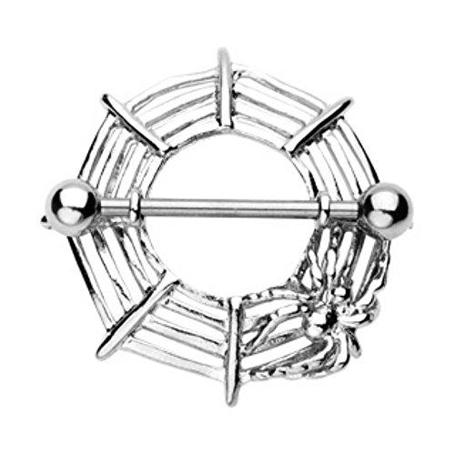 - Spider Web Freedom Fashion Nipple Shield (Sold by Pair)