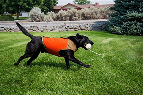 CUGA VEST Serious Protection for The Active Dog (XSML-SML, Orange/Tan) by CUGA VEST (Image #4)