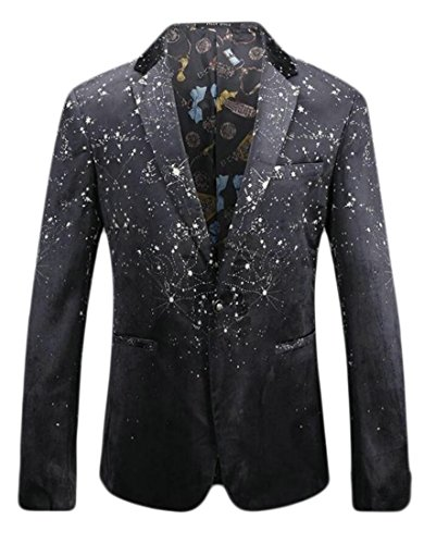 discount Be Loved Beloved Men Autumn One Button Long Sleeve Solid Color Suit Blazers for sale