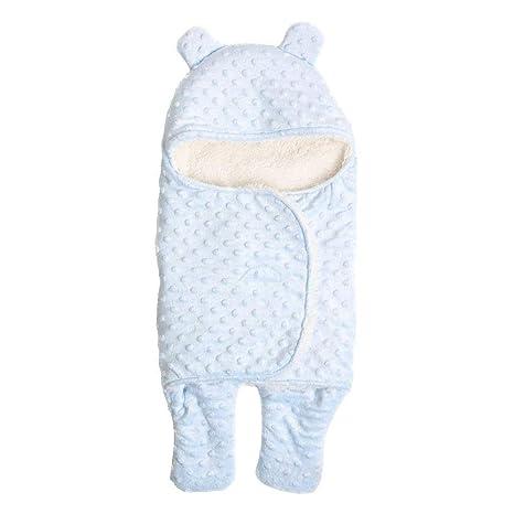 Saco de Dormir con Piernas Separadas para Bebé Recién Nacido 0-6