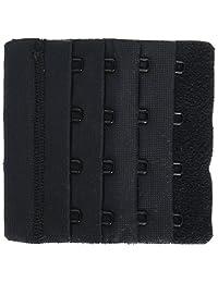 Dritz(R) Bra Back Extender 3 Inch Wide-Black 4 Hooks
