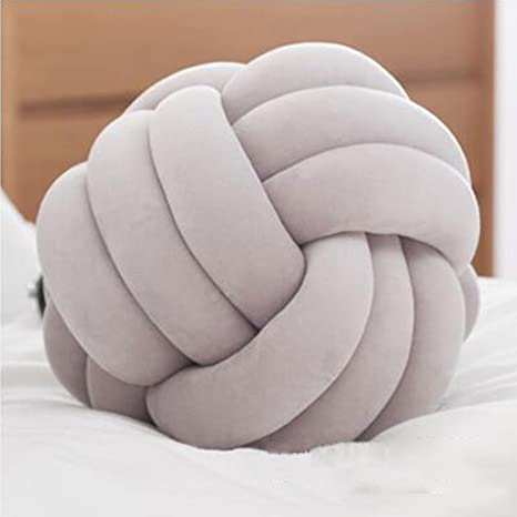 Groovy Pillow Ball Spherical Creative Knotted Living Room Bedroom Short Links Chair Design For Home Short Linksinfo