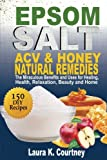 Epsom Salt, ACV and Honey Natural Remedies: The