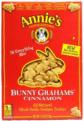 Annies Cinnamon Bunny - Annie's Homegrown Bunny Grahams Cinnamon -- 7.5 oz - 2 pc