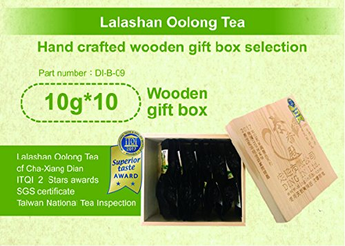 DING IN Lalashan Oolong Tea Wooden Box 10g10/box by Ding In ltd. (Image #6)