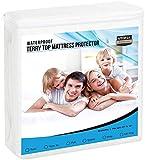 Utopia Bedding Premium Hypoallergenic Waterproof Mattress Protector (Single)