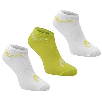 3 Pack HEAD Unisex Mens Womens Sneaker Trainer Sports Socks