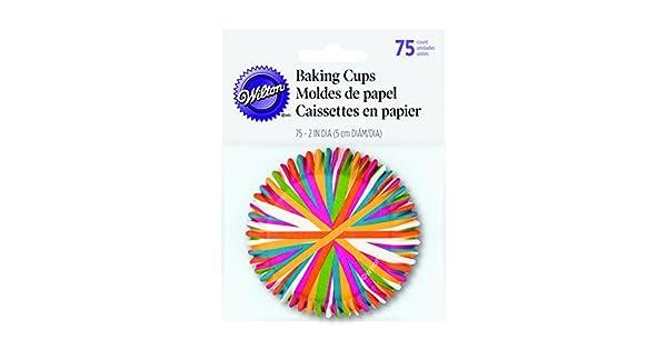 Amazon.com: Moldes de papel para magdalenas, de Wilton, con ...