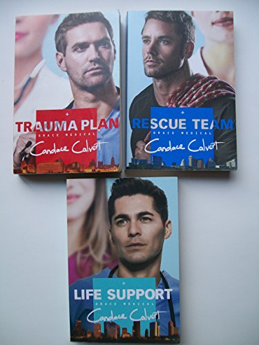 Grace Medical Series (Set of 3) Books 1-3 Trauma Plan, Rescue Team, Life (Trauma Plan)