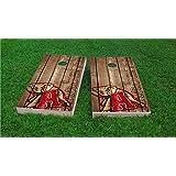 Details about  /Alabama Crimson cornhole board set no bags HIGH QUALITY AC23