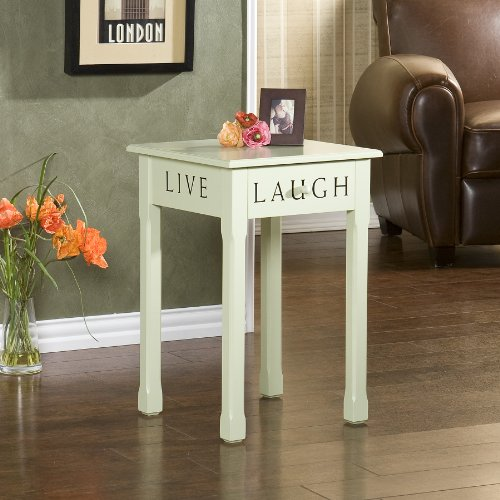 Southern Enterprises Inspirations Green Cottage Accent Table