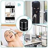 Ocamo Bluetooth Music Player with HD 1080P WIFI Camera Wireless Stereo Speaker