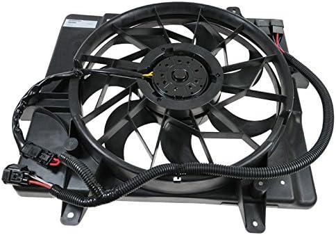 Radiator Cooling Fan /& Motor for 06-10 Chrysler PT Cruiser